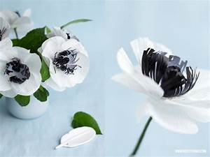 Papierblumen Basteln Anleitung : diy papierblumen anemonen aus krepppapier stoff blumen krepppapier papier und blumen aus ~ Orissabook.com Haus und Dekorationen