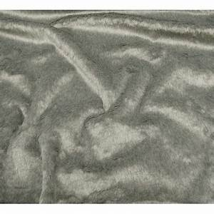 Tissu Imitation Fourrure : tissu imitation fourrure gris largeur 153cm x 50cm ~ Teatrodelosmanantiales.com Idées de Décoration