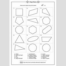 Name Each Shape Worksheet For 4th  5th Grade  Lesson Planet