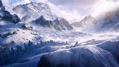 Blizzard Snow 1080p Mountains Wind Cold Wallpapersafari