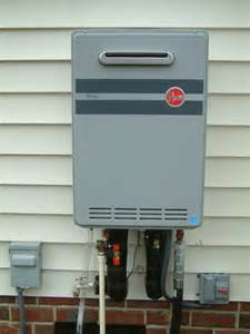 Exterior Tankless Water Heater