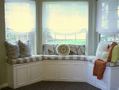 window bench cushions bay window seat for comfortable seating area at home