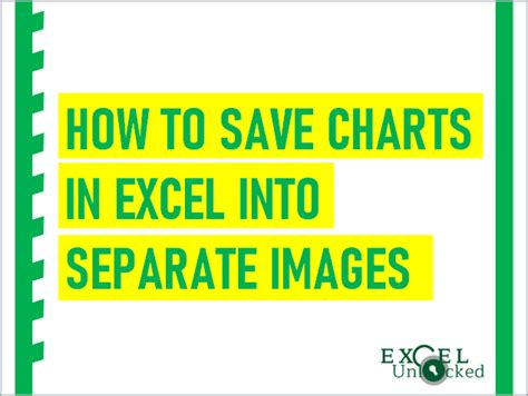 save charts  excel  separate images excel