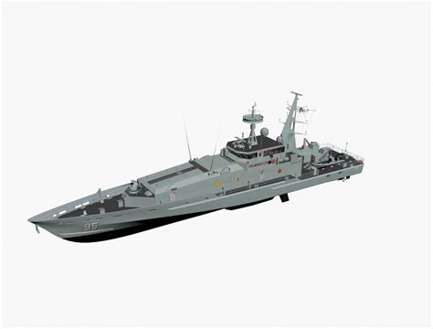 Armidale Class Patrol Boat Specifications by Armidale Class Patrol Boat 3d Max