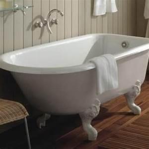 Pied De Biche Brico Depot : baignoire sur pied r tro fonte blanche 137 x 78 cm ~ Dailycaller-alerts.com Idées de Décoration