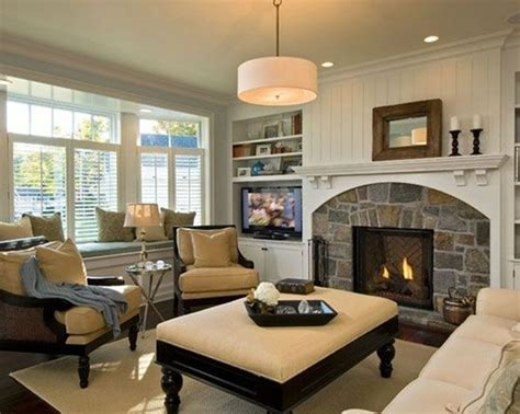 cozy living room beautiful fireplace httpwww