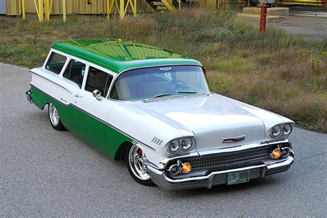 slung  chevy yeoman wagon redefines cool hot rod