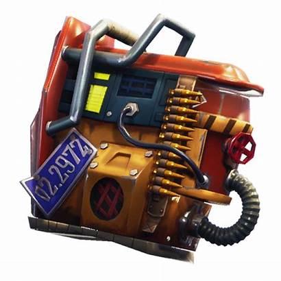 Fortnite Rust Bucket Bling Raider Renegade Blings