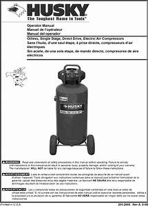 Husky Air Compressor Manual L0805314
