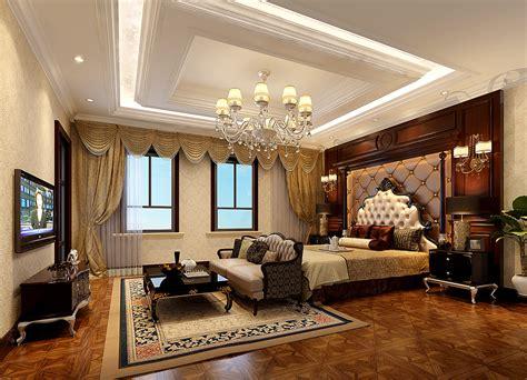 European-style Bedroom Bedside Backdrop Design