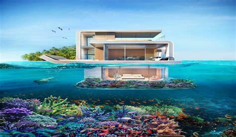 casa de mar casas de lujo a la venta en dubai 161 est 225 n sumergidas en el