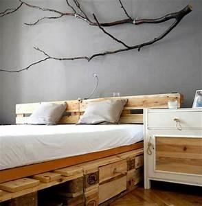 Sofa Aus Paletten Matratze : noch 64 schlafzimmer ideen f r m bel aus paletten ~ Michelbontemps.com Haus und Dekorationen