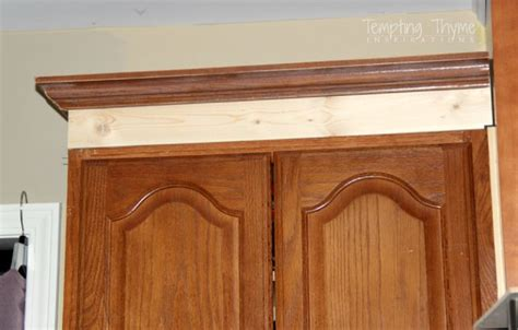 molding for cabinets upgrade oak kitchen cabinets with crown moldings 23 add