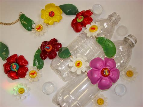 arts and crafts ideas recycle flower craft with plastic bottle ideas arts
