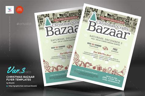 christmas bazaar flyer templates  kinzi graphicriver