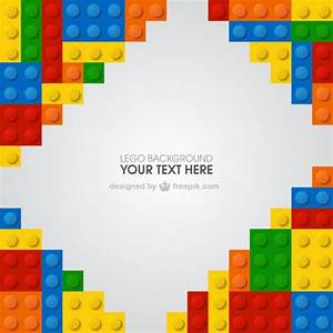 Lego background Vector | Free Download