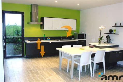 hauteur prise cuisine aménagement cuisine hauteur variable pour personne handicapée pmr et senior