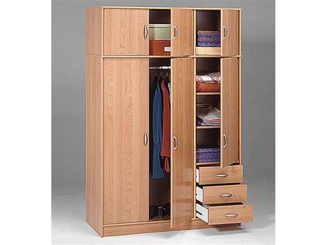 porte habits chambre armoire dressing quot typhon quot 6 portes et 3 tiroirs