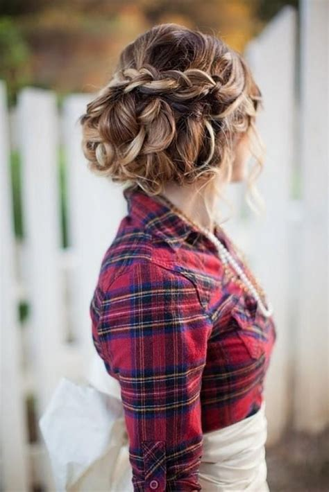17 best ideas about country wedding hairstyles on