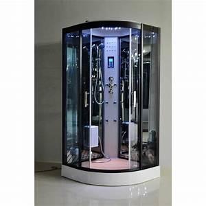 cabines de douche comparez les prix pour professionnels With porte de douche coulissante avec panneau lumineux led salle de bain