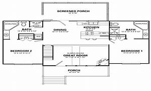 simple 4 bedroom house floor plans simple house designs 2 With simple house plans 4 bedrooms