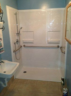 17 Best images about Wheelchair Accessible Roll In Shower