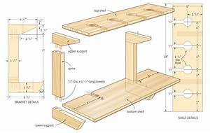 free wooden storage shelf plans Quick Woodworking Projects