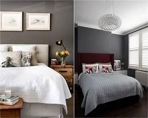 Holz Weiß Streichen : wandfarbe grau im schlafzimmer 77 gestaltungsideen ~ Markanthonyermac.com Haus und Dekorationen