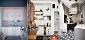amenager une petite cuisine 20 idees et astuces une With amenager une petite cuisine astuces