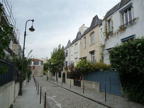 les maisons de ville 233 tonnantes de la rue dieulafoy 13e c 244 t 233 jardin