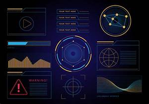 Free Hud Graphic Interface Vector Download Free Vectors
