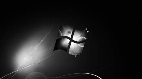 ecran noir bureau windows 7 télécharger 1600x900 fond d 39 écran noir foncé de windows