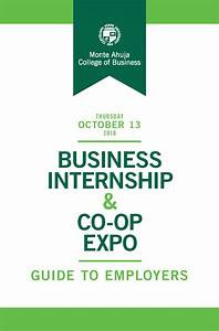 2016 List Of Employers For The Business Internship  U0026 Co