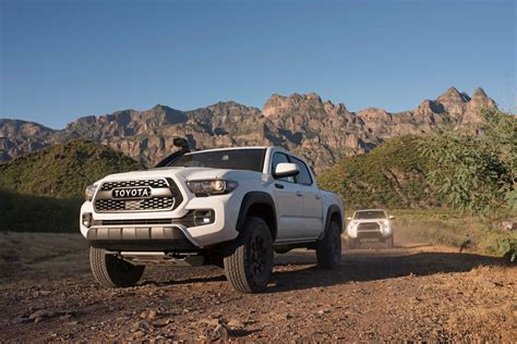 Toyota Tacoma Road by 2019 Toyota Tacoma Tundra And 4runner Trd Pro Receive A