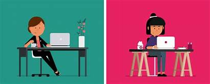 Behance Portal Animation Vector Place Character Need