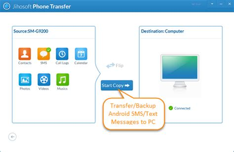 how to transfer messages from android to android 3 after the transferring process open the backup files on