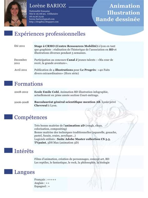 Modèle De Cv Word à Télécharger by Exemple De Cv En Anglais Scientifique Sle Resume