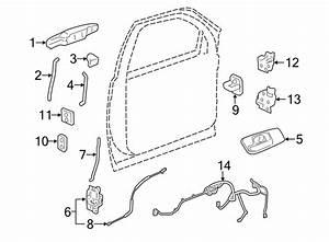 Chevrolet Silverado 2500 Hd Striker  Plate  Lock  Door