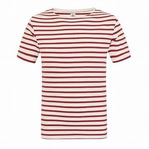 T Shirt Mariniere Homme : tee shirt marini re homme manches courtes matelot cru ~ Melissatoandfro.com Idées de Décoration