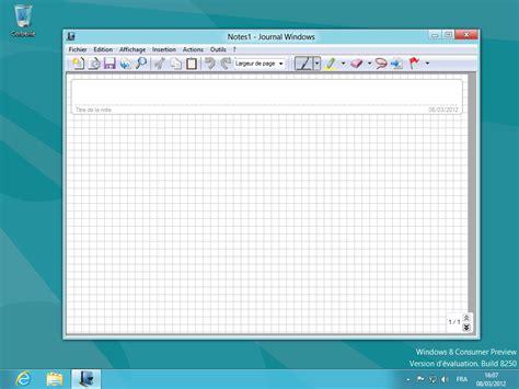 image bureau windows 8 windows 8 le bureau classique en images