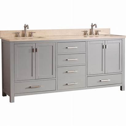 Vanity Modero Avanity Qualitybath V72 Bathroom Double