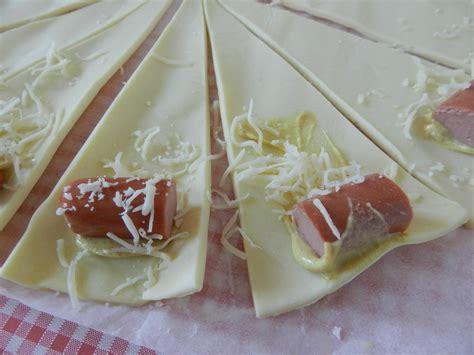 mini croissants knacki ketchup ou moutarde c est pas d la tarte