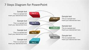 7 Steps Diagram Design For Powerpoint