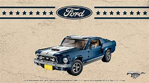 LEGO Creator Expert 10265 Ford Mustang retro poster contest