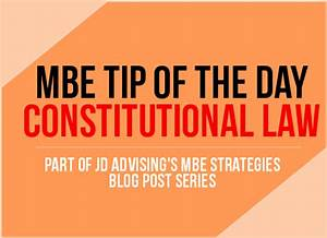 Constitutional Law MBE tip of the Day - Equal Protection ...