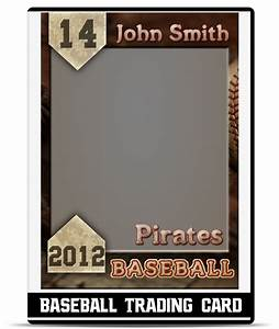 baseball card template beepmunk With baseball card size template