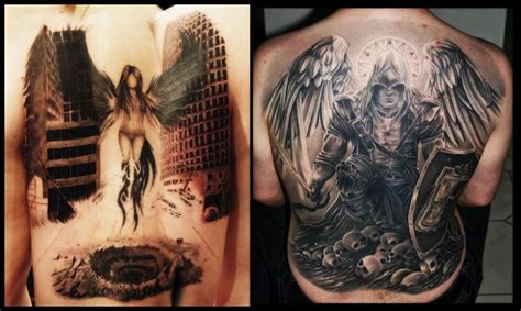 12 Cool Angel Tattoos For Men  Everything About Tattoos