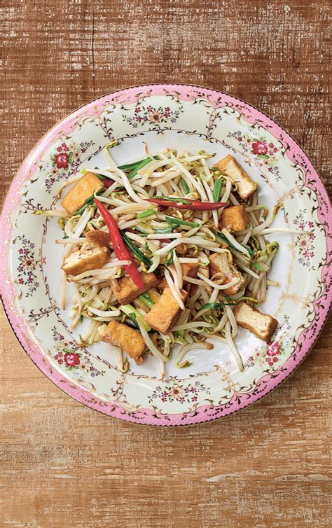 stir fry tofu  bean sprouts recipe relish