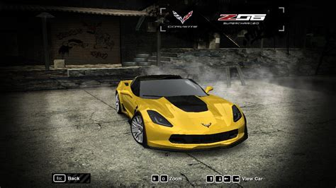speed  wanted chevrolet corvette   nfscars