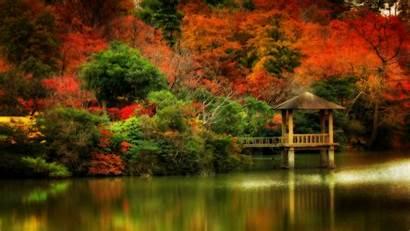 Scenes Wallpapers Fall Desktop Autumn Scene Screensavers